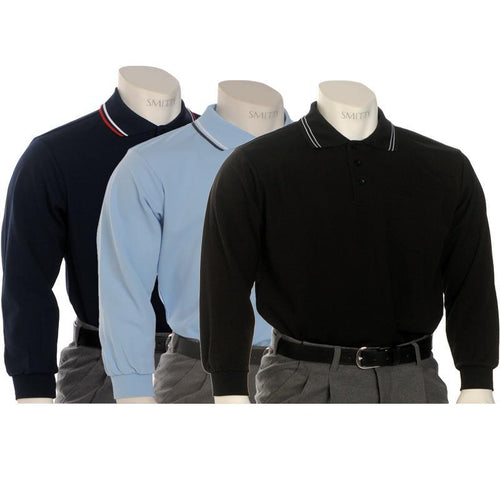 Smitty Pro Knit Long Sleeve Umpire Shirts