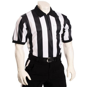 "Smitty 2"" Stripe Short Sleeve Referee Shirts"