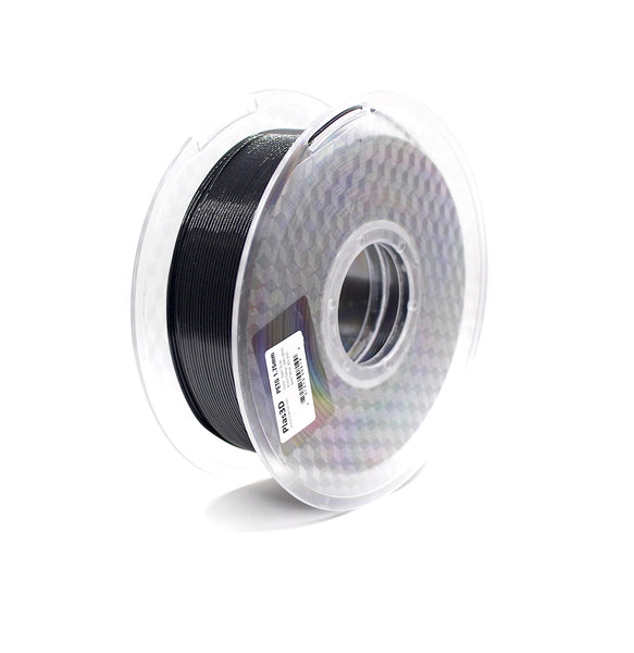 Plas3D Sparkle Gray PETG 1.75mm 3D Printer Filament