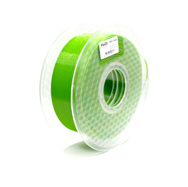 Plas3D Green Apple Sparkle PETG 1.75mm 3D Printer Filament