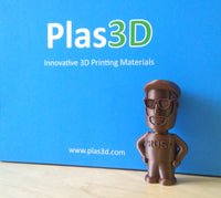 Plas3D Copper PLA 1.75mm 3D Printer Filament
