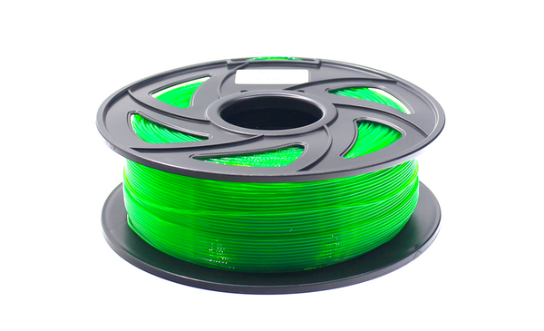 Plas3D PETG 1.75mm Filament Translucent Green