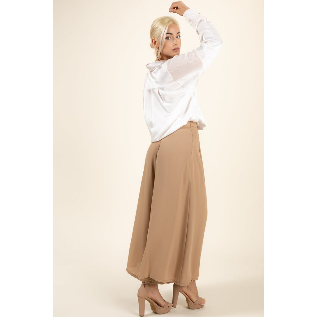 Jetsetter Darted Trousers-  Made in Italy - Hype Fashion