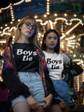 Boys Lie Women's T-Shirt - Hype Fashion