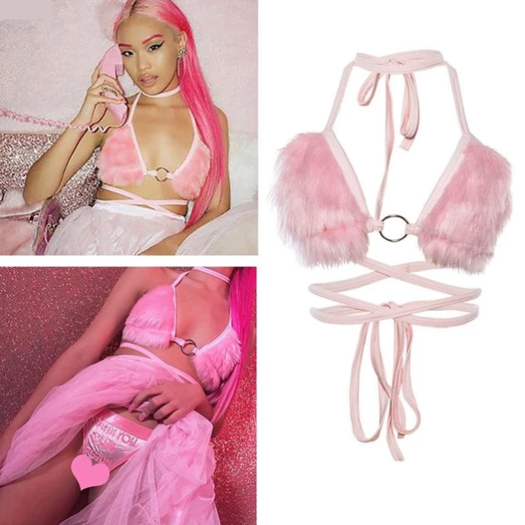 Playgurl Bunny Bralette - Hype Fashion