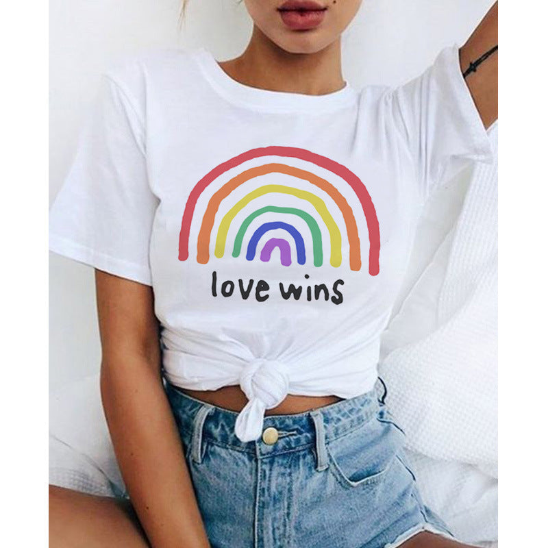 Love Wins Crop Top - Hype Fashion