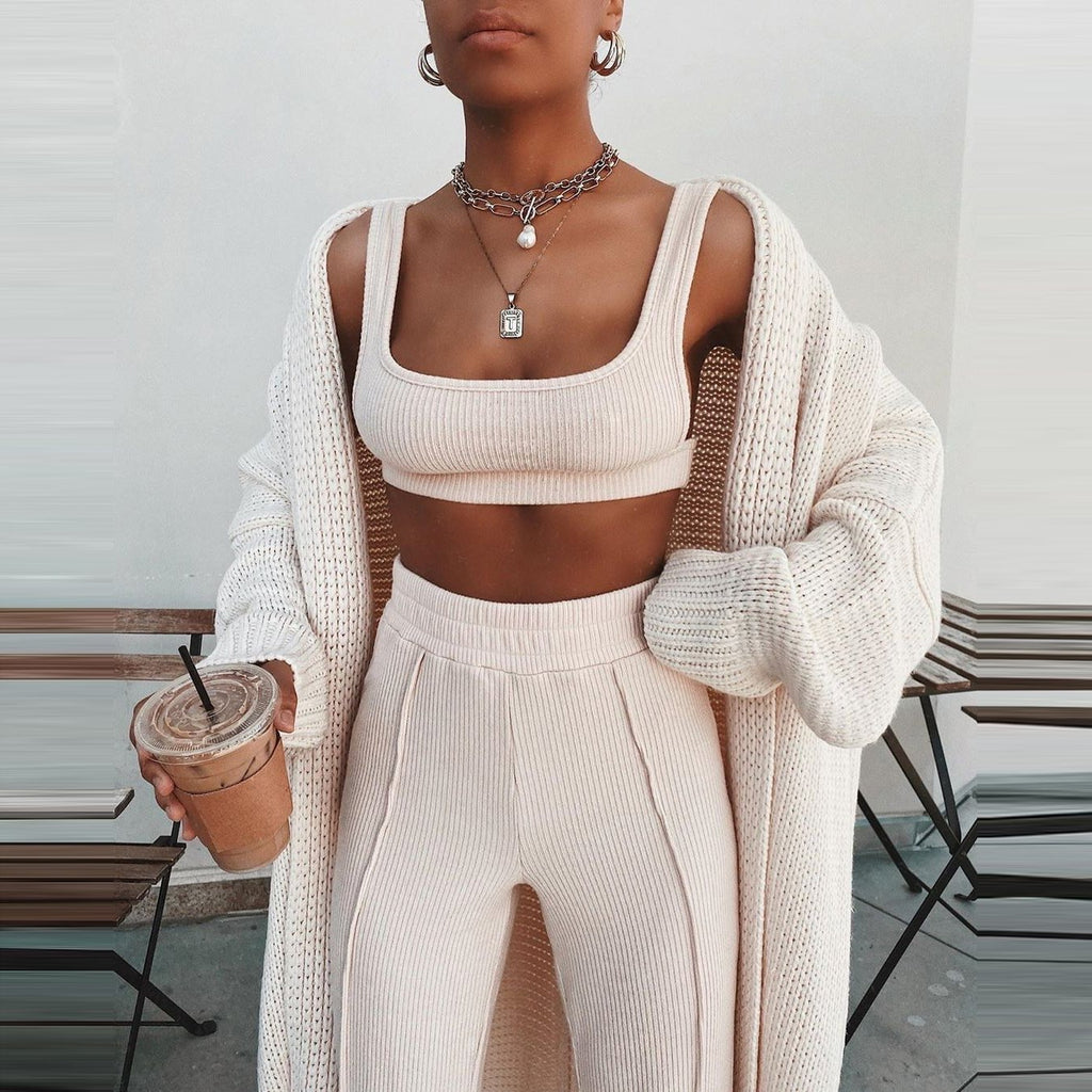 So Cozy Casual Matching Set - Hype Fashion
