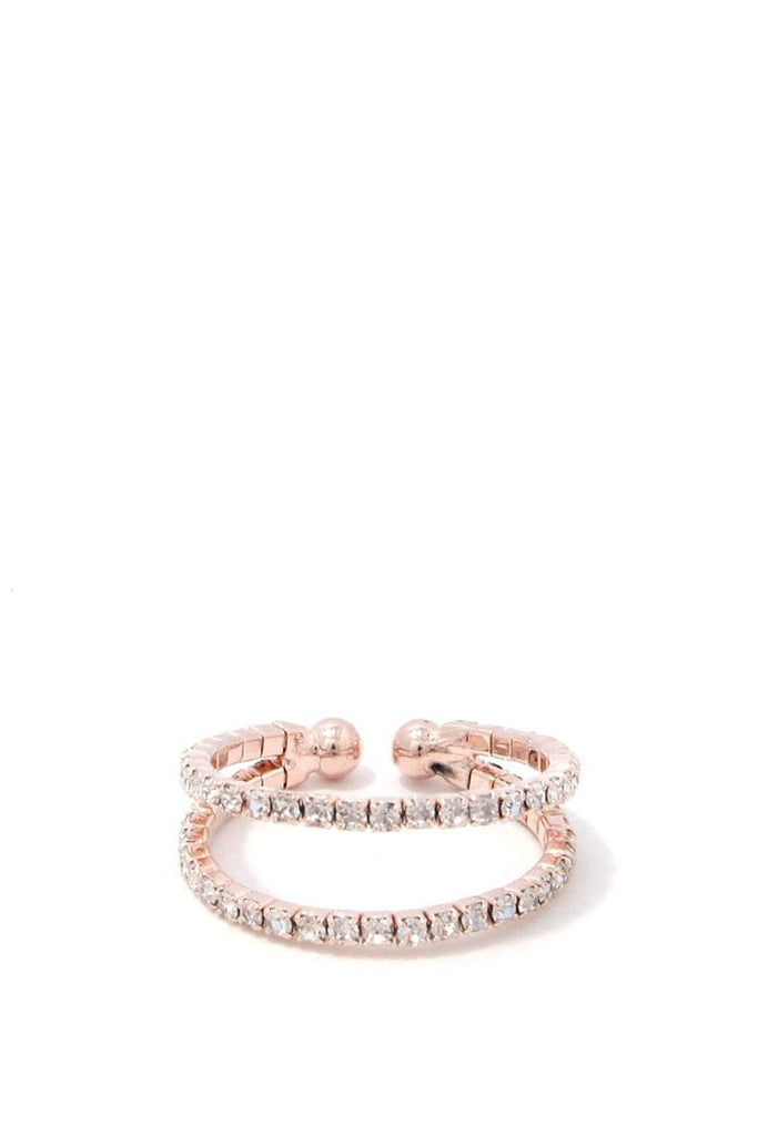 Rhinestone Ring - Hype Fashion