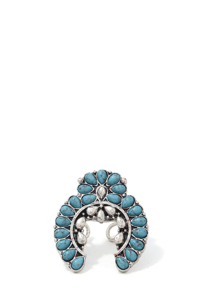 Beaded Metal Ring - Hype Fashion
