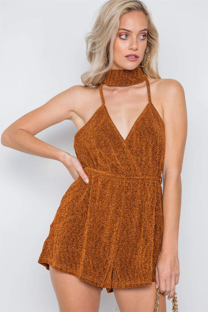 Cami Evening Romper - Hype Fashion