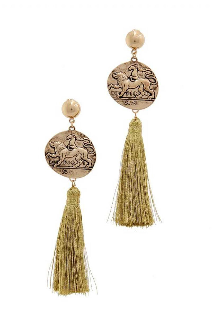 Fashion Tassel Drop Chic Earring - Hype Fashion