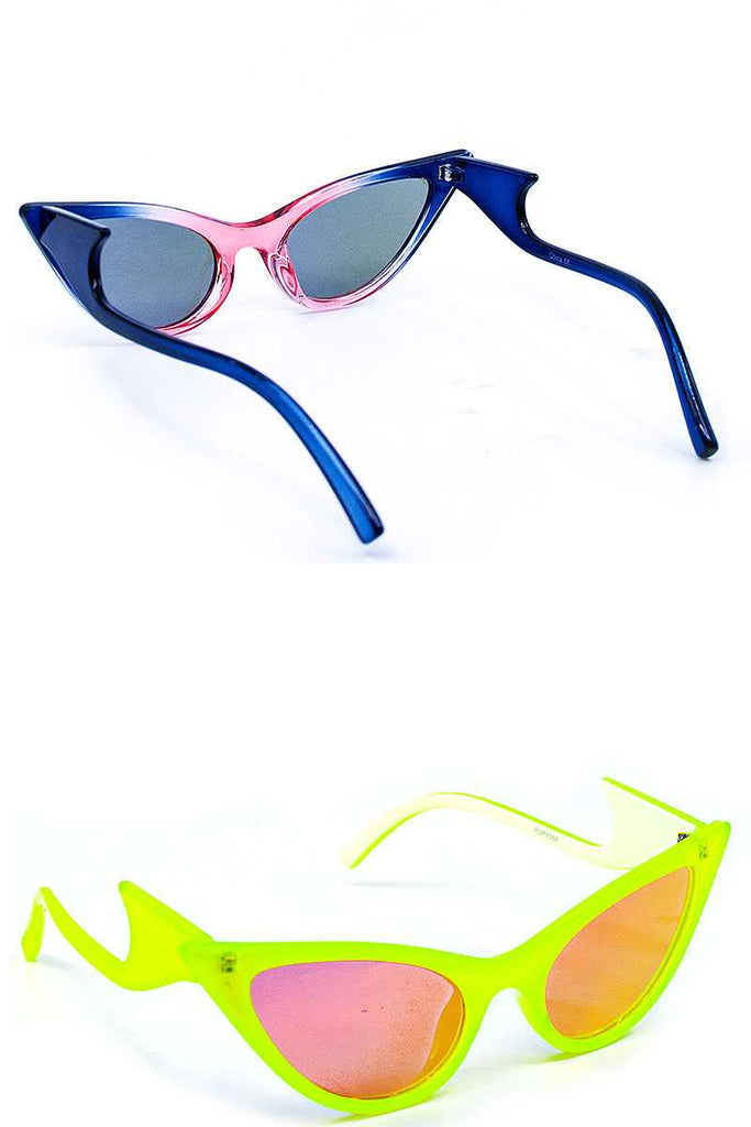 Stylish Funny Polymer Frame Sunglasses - Hype Fashion
