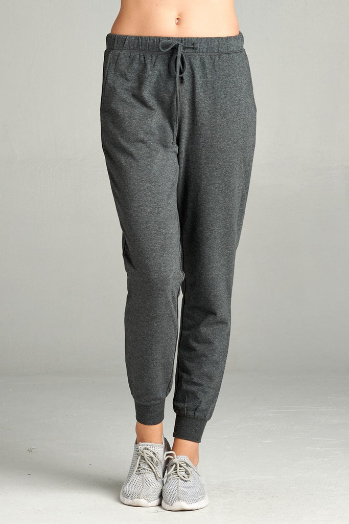 French Terry Jogger Pants - Hype Fashion