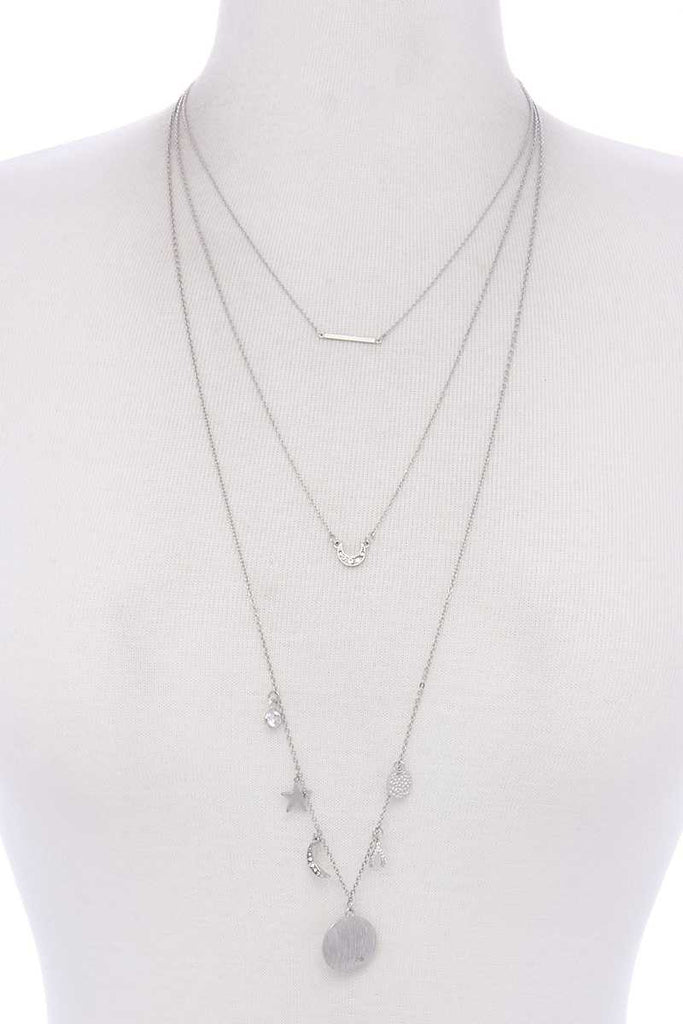 Layer Charm Necklace - Hype Fashion