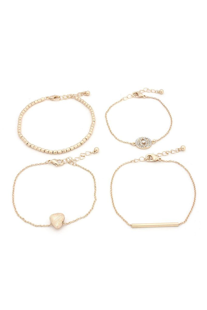 Metal Bracelet Set - Hype Fashion