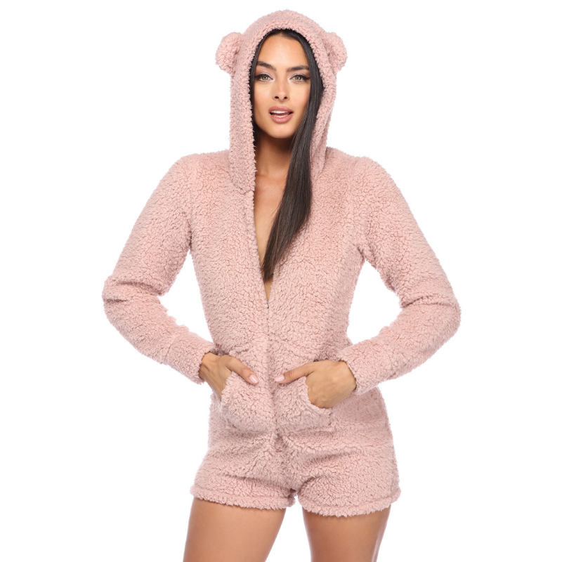 Adorable Bear Romper - Hype Fashion