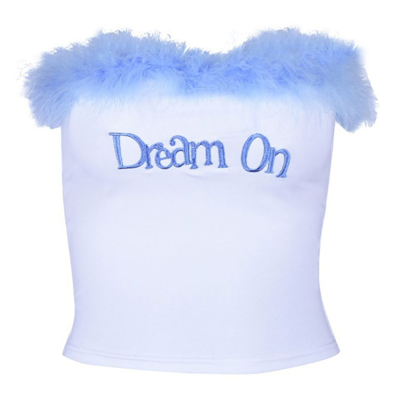 Dream On Crop Top - Hype Fashion
