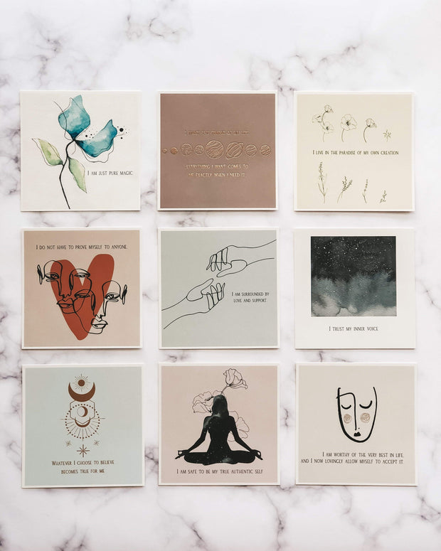 Be You: Affirmation Cards 1
