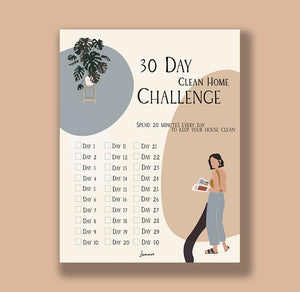 30 Day Challenge: Pdf Sheet - thelamare