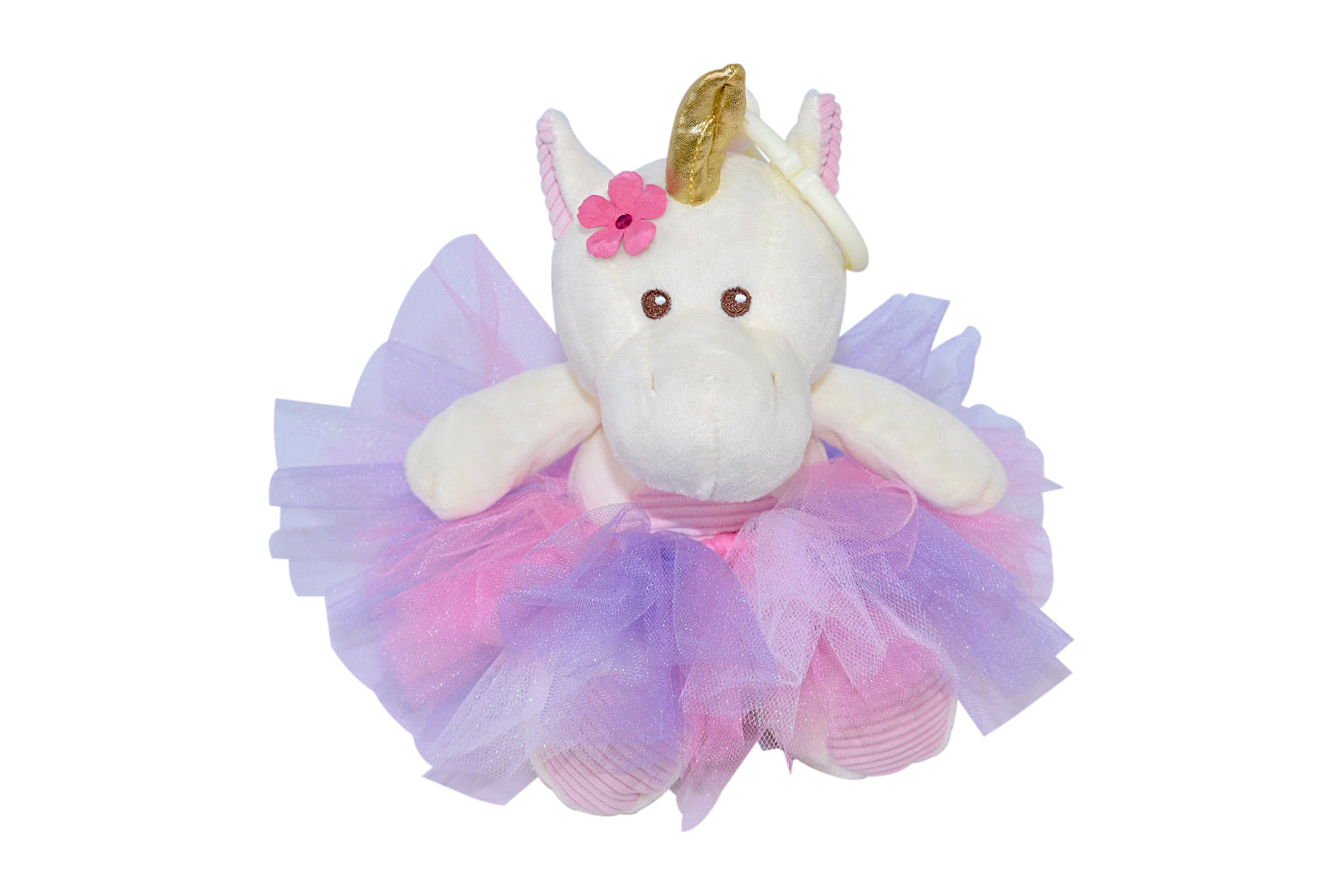 Kelly Baby Unicorn Plush Toy with Rattle