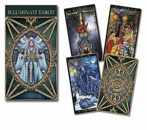 Tarot Illuminati deck cards