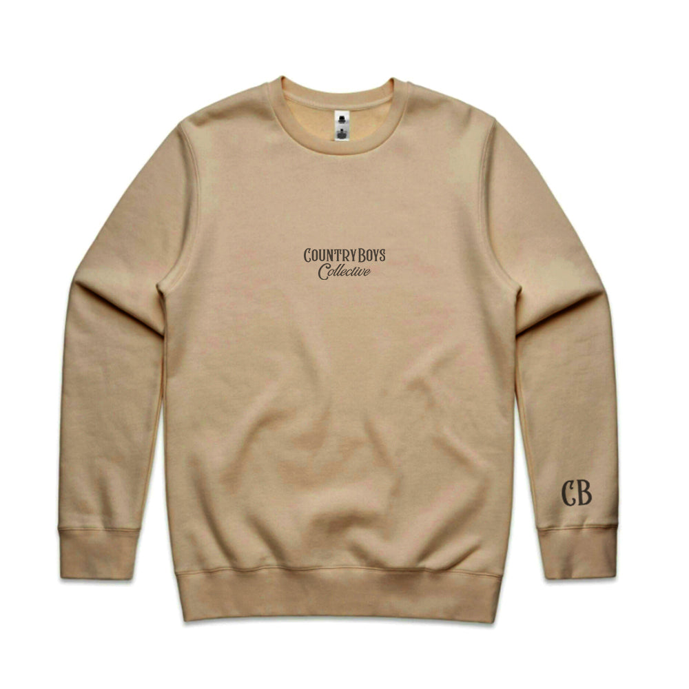 Country Boys Tan Roundneck Jumper