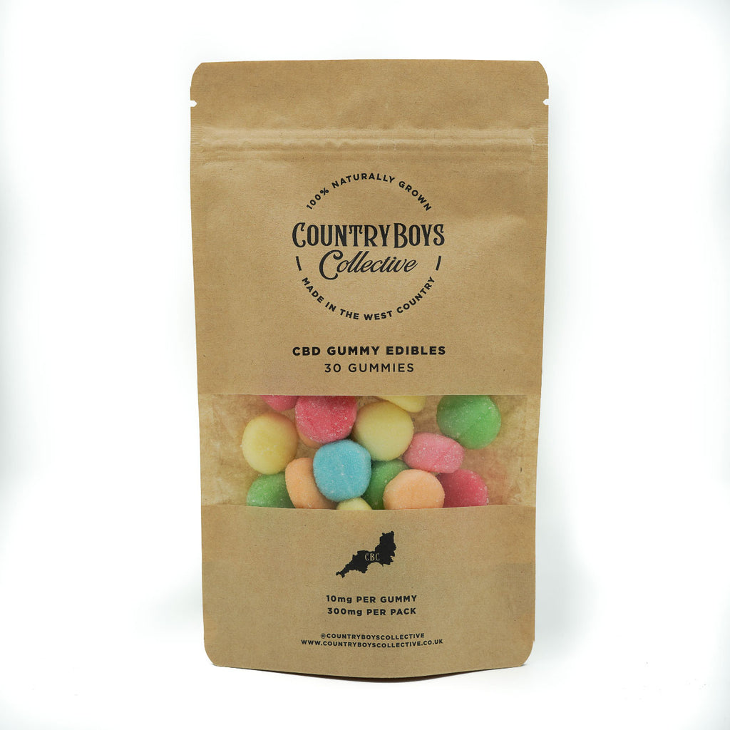 CBD GUMMY SWEETS 300MG 30x10MG - £20