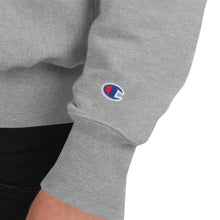 Load image into Gallery viewer, Capitalism Streetwear Champion Crewneck - (Champion Logo Parody)