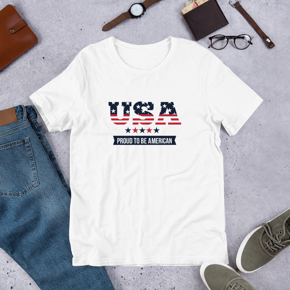 USA - Proud To Be American Shirt