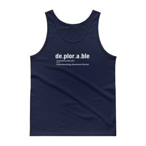 Deplorable Defintion Tank Top