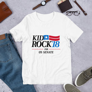Kid Rock '18 US Senate Shirt