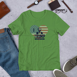 I Love Trump Heart Shirt