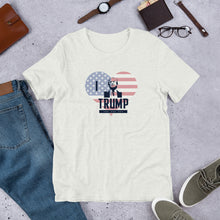Load image into Gallery viewer, I Love Trump Heart Shirt