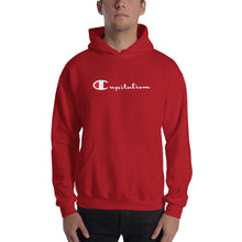Load image into Gallery viewer, Capitalism Streetwear Hoodie (Champion Logo Parody)