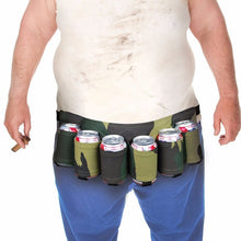 Load image into Gallery viewer, 6 Pack Beer Belt Holster Waist Bag