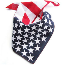 Load image into Gallery viewer, American Flag Bandana Headband