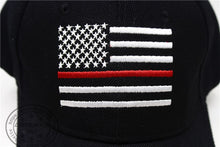 Load image into Gallery viewer, Thin RED Line USA American Flag Hat