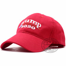 Load image into Gallery viewer, Donald Trump 2020 Keep America Great Red Hat Re-Election