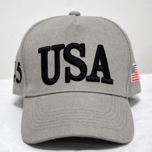 Load image into Gallery viewer, USA 45 Trump Presidential Hat - Multiple Colorways
