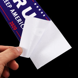 Lot of 10 Trump 2020 Re-election Car Bumper Stickers Decals
