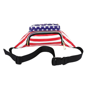 Stars And Stripes Fanny Waist Pack