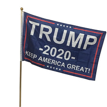 Load image into Gallery viewer, Trump 2020 Flag Keep America Great Campaign Banner