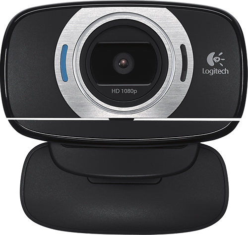 Logitech - HD Webcam C615 - Black
