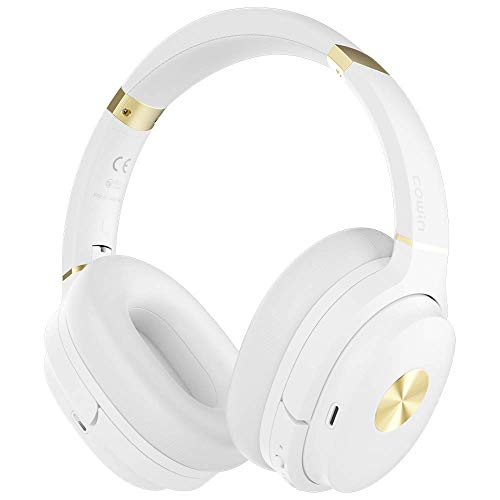 COWIN SE7 Active Noise Cancelling Headphones Bluetooth White