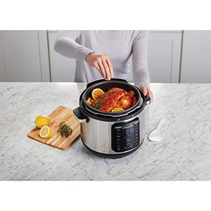 Crock-pot SCCPPC800-V1 8-Quart Multi-Use XL Express 8QT, Stainless Steel