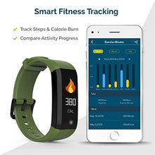 Load image into Gallery viewer, FOMO Fit 2019 Fitness Tracker Designed in California. SPORT-GREEN