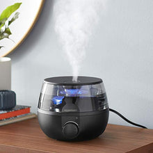 Load image into Gallery viewer, Amazon Basics Humidifier, 1.5 L, Black
