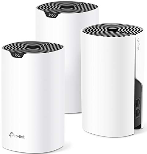 TP-Link Deco Mesh WiFi System (Deco S4) – Up to 5,500 Sq.ft. Coverage, White