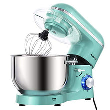 Load image into Gallery viewer, Aucma Stand Mixer,6.5-QT 660W 6-Speed Tilt-Head Food Mixer, 6.5QT, Blue