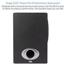 Load image into Gallery viewer, Cyber Acoustics High Power 2.1 Subwoofer Speaker System with 80W of –...
